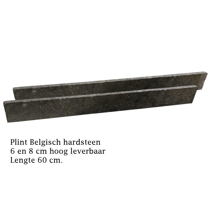 Plint Belgisch Hardsteen 60x8x1,5 Antique
